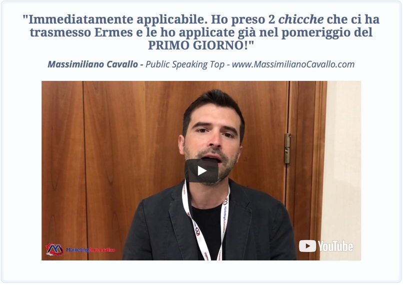 Marketing Automatico - Opinione Massimiliano Cavallo